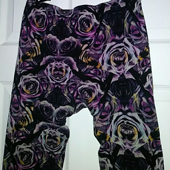 Minicci Pants - Purple Rose Leggings